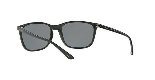 Giorgio Armani Herren Sonnenbrille » AR8084«, schwarz, 504281 - schwarz/grau