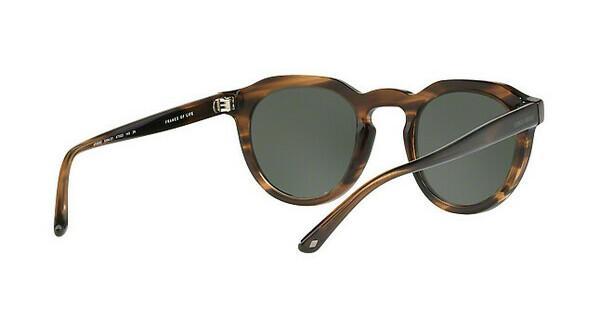 Giorgio Armani Herren Sonnenbrille » AR8093«, schwarz, 501731 - schwarz/grün