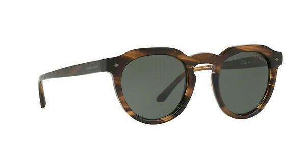 Giorgio Armani Herren Sonnenbrille » AR8093«, braun, 559731 - braun/grün
