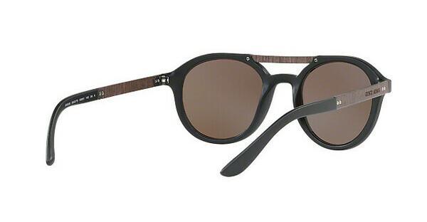 Giorgio Armani Herren Sonnenbrille » AR8095«, schwarz, 504273 - schwarz/braun