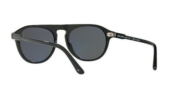 Giorgio Armani Herren Sonnenbrille » AR8096«, schwarz, 5017K8 - schwarz/grau
