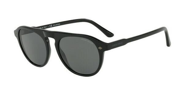 Giorgio Armani Herren Sonnenbrille » AR8076«, schwarz, 504287 - schwarz/grau