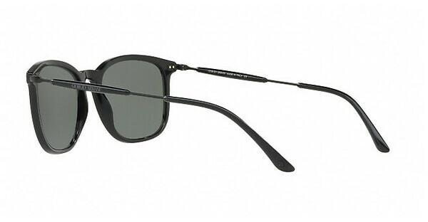 Giorgio Armani Herren Sonnenbrille » AR8098«, schwarz, 50179A - schwarz/grün