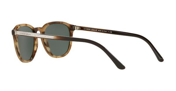 Giorgio Armani Damen Sonnenbrille » AR8104«, braun, 561771 - braun/grün
