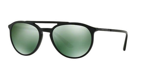 Giorgio Armani Herren Sonnenbrille » AR8105«, schwarz, 50426R - schwarz/grün