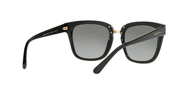 Giorgio Armani Damen Sonnenbrille » AR8106«, schwarz, 500111 - schwarz/grau