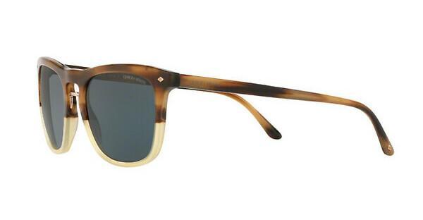 Giorgio Armani Herren Sonnenbrille » AR8107«, braun, 5657R5 - braun/blau