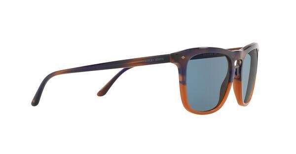 Giorgio Armani Herren Sonnenbrille » AR8107«, braun, 565856 - braun/blau