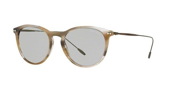 Giorgio Armani Herren Sonnenbrille » AR8108«, braun, 565987 - braun/grau