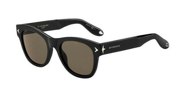 GIVENCHY Givenchy Sonnenbrille » GV 7010/S«, schwarz, 807/EJ - schwarz/braun