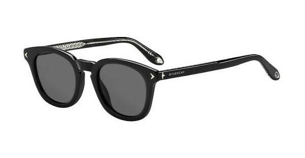 GIVENCHY Givenchy Herren Sonnenbrille » GV 7076/S«, schwarz, 807/M9 - schwarz/grau