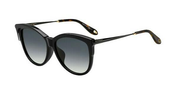 GIVENCHY Givenchy Damen Sonnenbrille » GV 7096/S«, schwarz, 807/9O - schwarz/grau