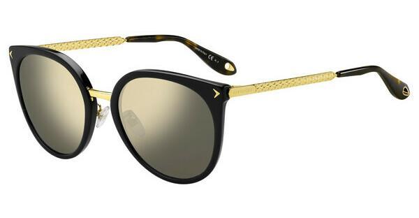 GIVENCHY Givenchy Damen Sonnenbrille » GV 7064/F/S«, schwarz, 807/IR - schwarz/grau