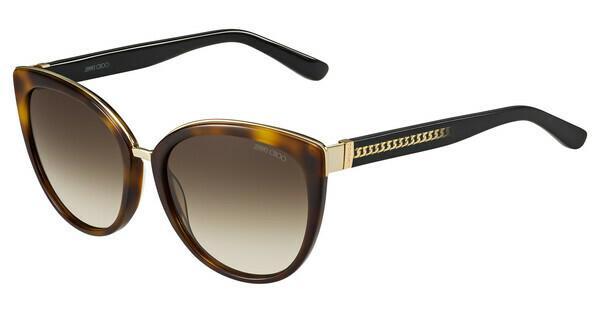 JIMMY CHOO Jimmy Choo Damen Sonnenbrille » DANA/S«, weiß, 116/QH - weiß/ gold