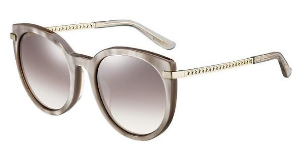 JIMMY CHOO Jimmy Choo Damen Sonnenbrille » DENA/F/S«, schwarz, 807/FQ - schwarz/ gold