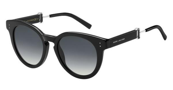Marc Jacobs Damen Sonnenbrille Marc 129/S 9O 807, Black/Dark Grey Sf, 50