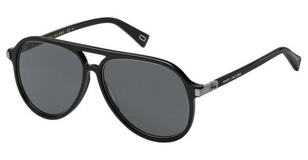 MARC JACOBS Marc Jacobs Herren Sonnenbrille » MARC 172/S«, schwarz, 284/IR - schwarz/grau