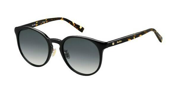 Max Mara Damen Sonnenbrille » MM WAND FS«, schwarz, 807/KU - schwarz/blau