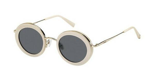 Max Mara Damen Sonnenbrille » MM EILEEN«, weiß, 10A/IR - weiß/grau