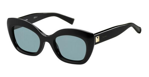 Max Mara Damen Sonnenbrille » MM PRISM VII«, schwarz, 807/KU - schwarz/blau