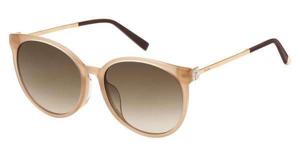 Max Mara Damen Sonnenbrille » MM DOTS II«, rosa, L93/HA - rosa/braun