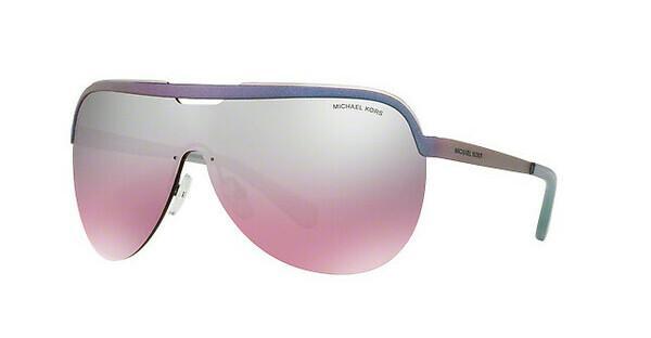 MICHAEL KORS Michael Kors Damen Sonnenbrille »SWEET ESCAPE MK1017«, blau, 11387E - blau/ silber