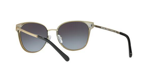 MICHAEL KORS Michael Kors Damen Sonnenbrille »TIA MK1022«, schwarz, 118111 - schwarz/grau