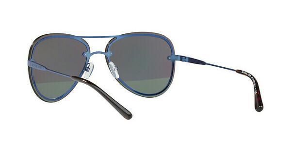 MICHAEL KORS Michael Kors Damen Sonnenbrille »LA JOLLA MK1026«, blau, 1173F2 - blau/grün