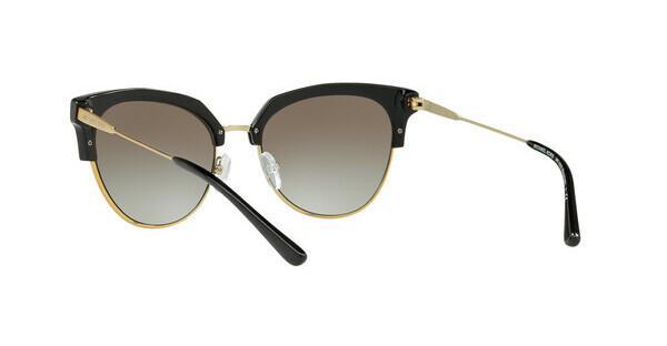 MICHAEL KORS Michael Kors Damen Sonnenbrille »SAVANNAH MK1033«, schwarz, 32698E - schwarz/grau