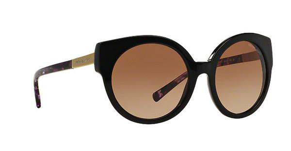 MICHAEL KORS Michael Kors Damen Sonnenbrille »ADELAIDE I MK2019«, schwarz, 315313 - schwarz/braun