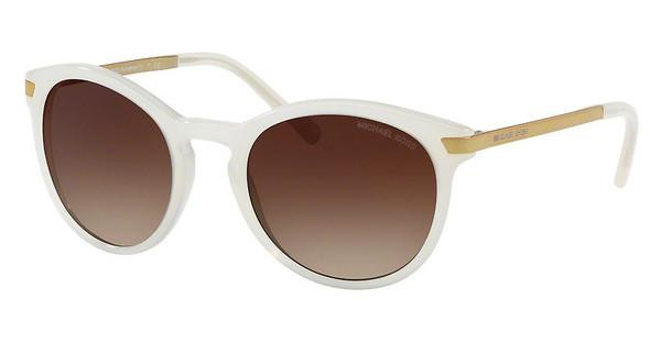 MICHAEL KORS Michael Kors Damen Sonnenbrille »ADRIANNA III MK2023«, weiß, 330413 - weiß/braun