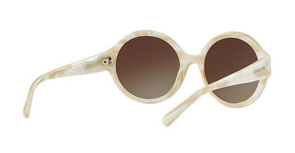 MICHAEL KORS Michael Kors Damen Sonnenbrille »SEASIDE GETAWAY MK2035«, weiß, 320813 - weiß/braun