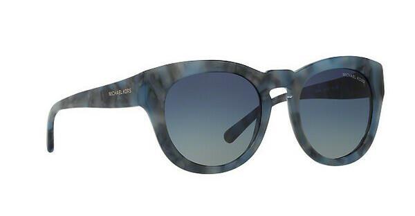 MICHAEL KORS Michael Kors Damen Sonnenbrille »SUMMER BREEZE MK2037«, blau, 32094L - blau/blau