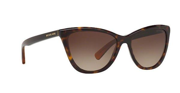 MICHAEL KORS Michael Kors Damen Sonnenbrille »DIVYA MK2040«, braun, 3217T5 - braun/braun