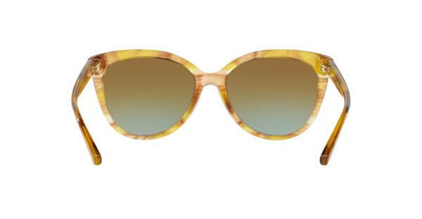 MICHAEL KORS Michael Kors Damen Sonnenbrille »JAN MK2045«, gelb, 32365D - gelb/ blau