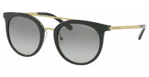 MICHAEL KORS Michael Kors Damen Sonnenbrille »ILA MK2056«, schwarz, 326911 - schwarz/grau