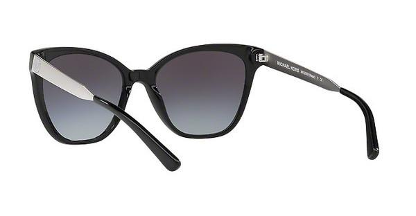 MICHAEL KORS Michael Kors Damen Sonnenbrille »NAPA MK2058«, schwarz, 316311 - schwarz/grau