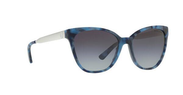 MICHAEL KORS Michael Kors Damen Sonnenbrille »NAPA MK2058«, blau, 331011 - blau/grau