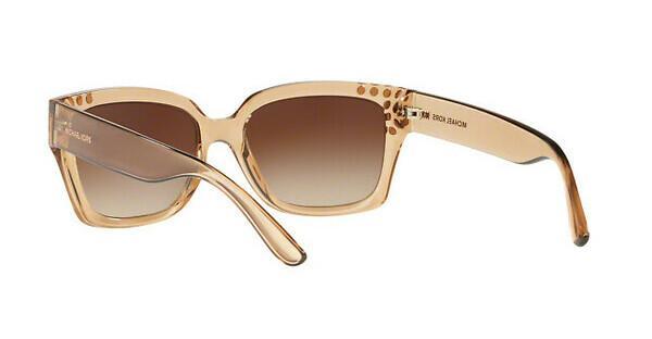 MICHAEL KORS Michael Kors Damen Sonnenbrille »BANFF MK2066«, braun, 334313 - braun