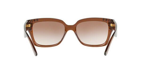 MICHAEL KORS Michael Kors Damen Sonnenbrille »BANFF MK2066«, braun, 334813 - braun/ orange