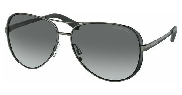 MICHAEL KORS Michael Kors Damen Sonnenbrille »CHELSEA MK5004«, grau, 101311 - grau/grau