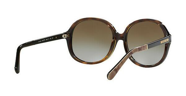 MICHAEL KORS Michael Kors Damen Sonnenbrille »TAHITI MK6007«, braun, 3010T5 - braun/braun