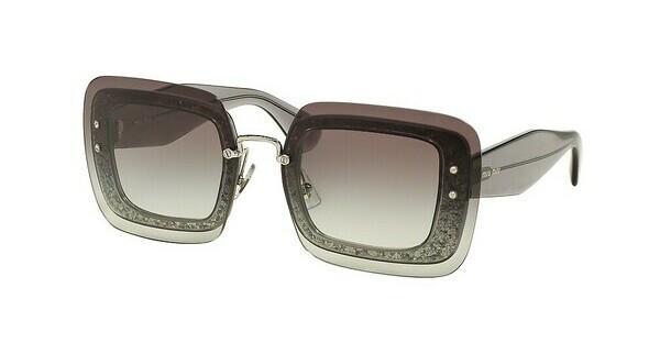 Miu Miu 01R Sonnenbrille Grau transparent und Glitter UES0A7 rUJhIyPF