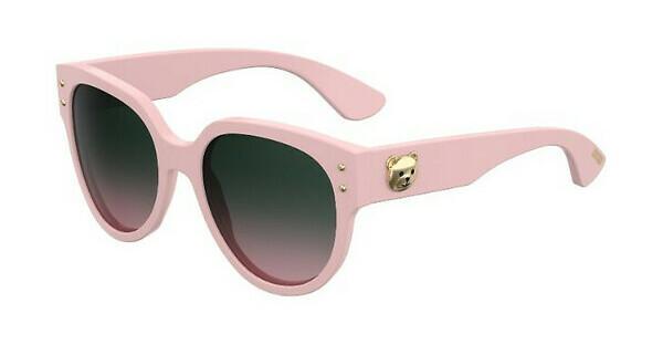 Moschino Damen Sonnenbrille » MOS007/S«, rosa, 35J/53 - rosa