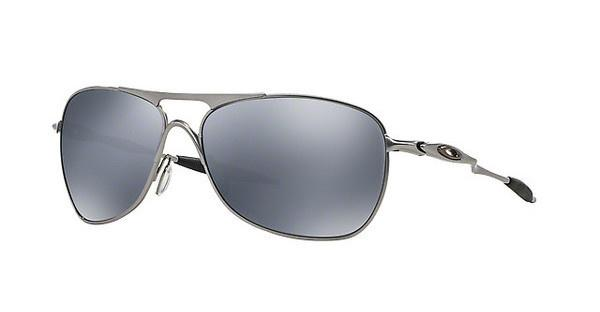 Oakley Herren Sonnenbrille »CROSSHAIR OO4060«, schwarz, 406003 - schwarz/schwarz