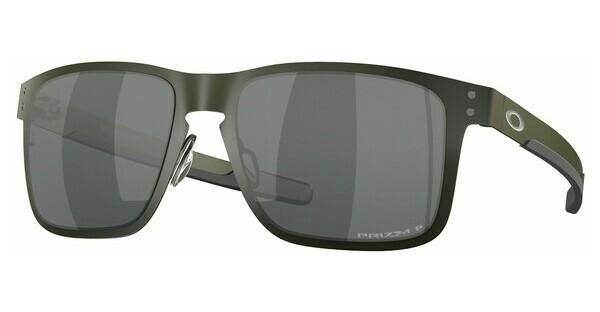 Oakley Herren Sonnenbrille »HOLBROOK METAL OO4123«, grau, 412303 - grau/schwarz