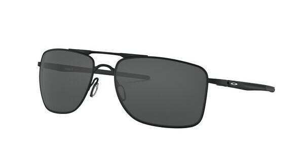 Oakley Herren Sonnenbrille »GAUGE 8 OO4124«, schwarz, 412401 - schwarz/grau