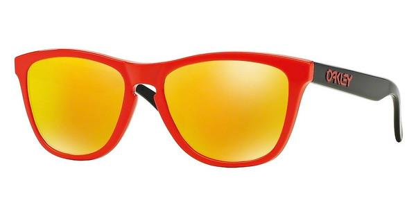 Oakley   OO9013 901334 FIRE IRIDIUMHERITAGE RED