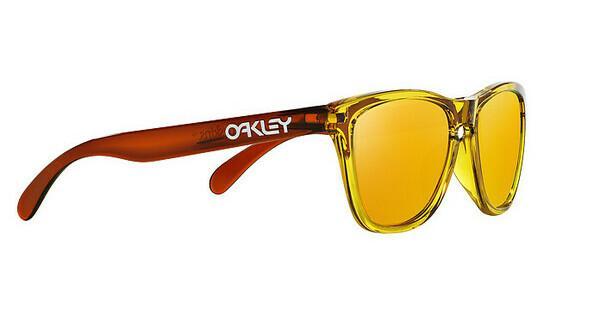 Oakley Herren Sonnenbrille »FROGSKINS OO9013«, orange, 24-359 - orange/gelb