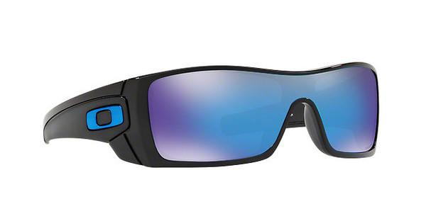 Oakley Herren Sonnenbrille »BATWOLF OO9101«, schwarz, 910158 - schwarz/blau